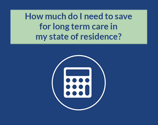 Financial Calculator: How much do I need to save for long term care in my state of residence?